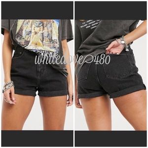 ASOS High Waisted Mom Jean Shorts NWT Size 2